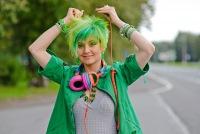 Краска зеленая для волос купить