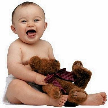 """Предпросмотр - Схема вышивки  """"Малыш с медведем """" - Схемы автора  """"Polina999 """" - Вышивка крестом."""