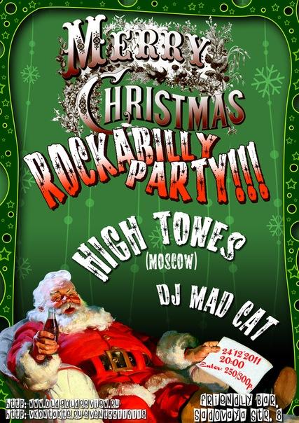 24.12 X-Mas Rockabilly Party at Friendly Bar!!!