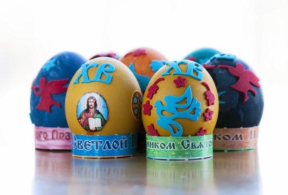 Широкоформатные обои Светлой Пасхи, Светлой Пасхи и декор яиц.
