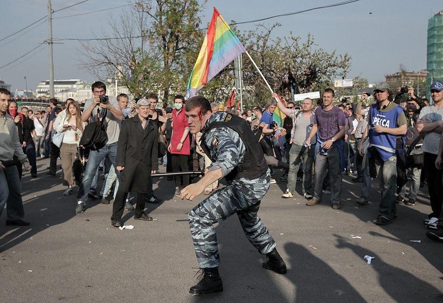 Кровавое лицо путинского режима