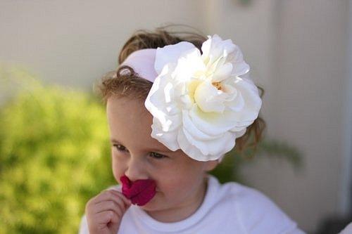 повязки на голову с цветами - Бисер и.
