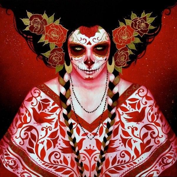 параметры рисунок на лице мексиканский чтобы