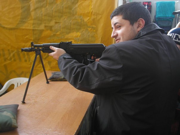 Артём Оганджанян, Минск