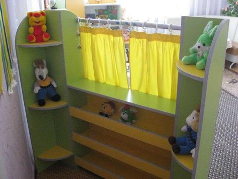 Ширма для театра в детском саду своими руками