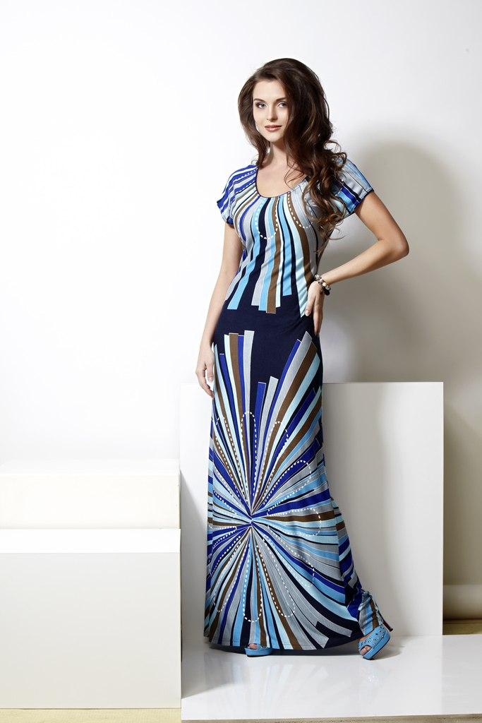гламурные вязаные платья