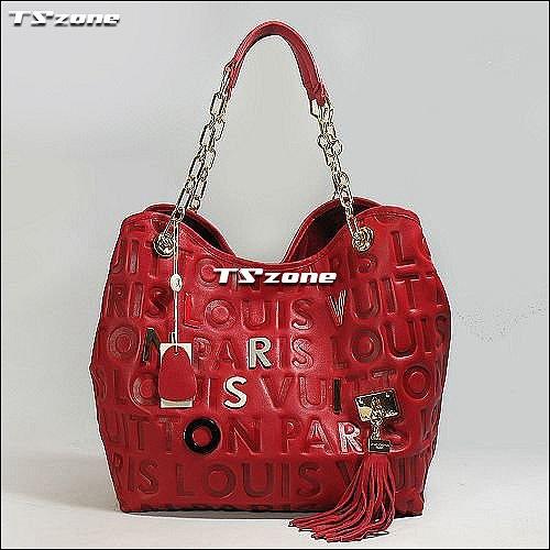 ДЕТАЛИ Сумка Louis Vuitton Handbag Красная Red W31XH28XD18