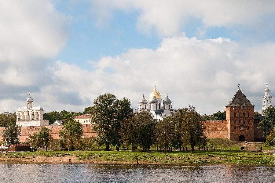 Серебряное кольцо России Великий Новгород