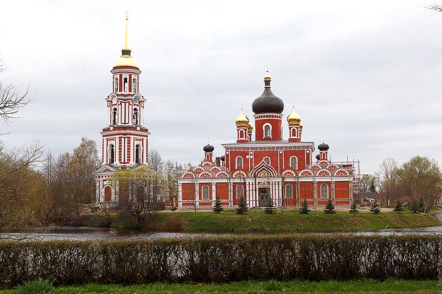 Серебряное кольцо России Старая Русса