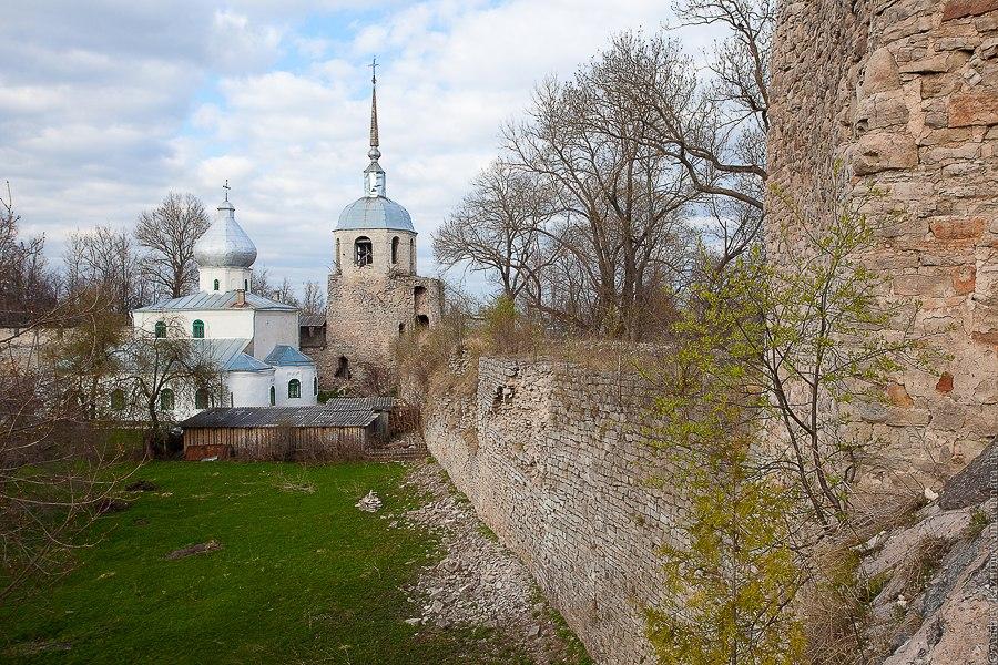 Серебряное кольцо России Крепость Порхов