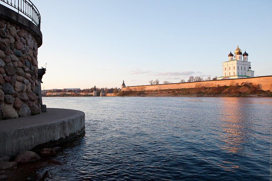 Серебряное кольцо России Псков