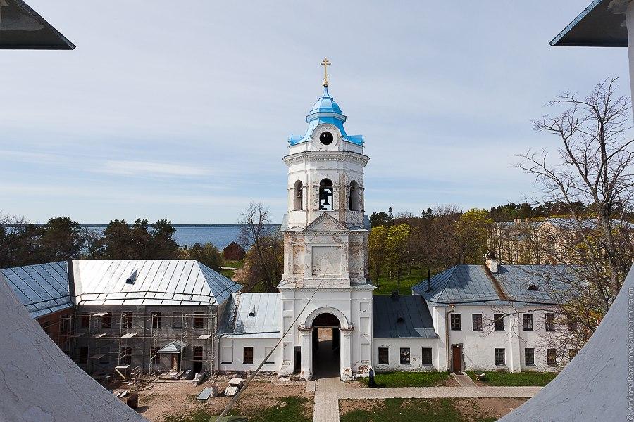 Серебряное кольцо России Остров Коневец