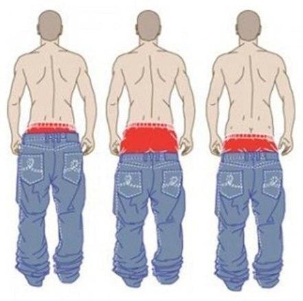 мода на штаны рэпперов
