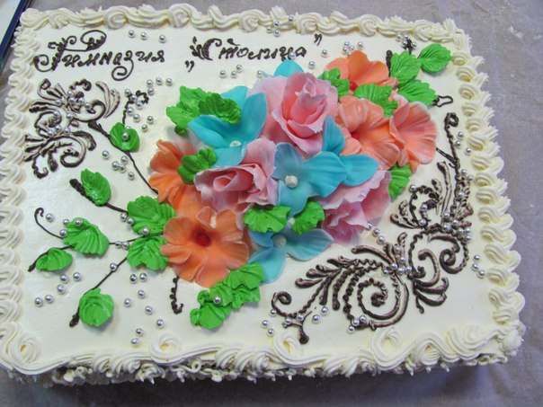 Фото мастер класс тортов