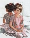 Производитель: Lanarte Название:Ballet Girl in Front of Mirror, Балерина у зеркала Артикул: 35.061 Графика...