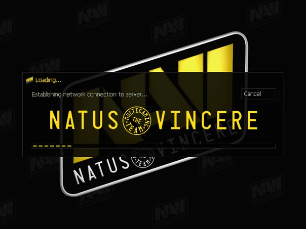 Natus Vincere презентует новогодний GUI.