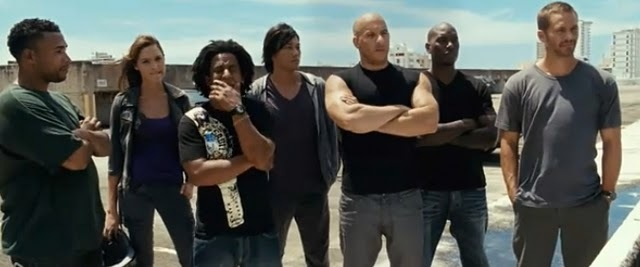 Форсаж 5 Быстрая пятерка  The Fast and the Furious 5 (2011)