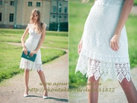Ажурное летнее платье купить дешево по лучшей цене Санкт-Петербург.