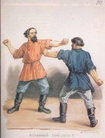 Кулачные бои в древней Руси