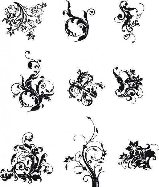 Татуировки для девушек распечатать