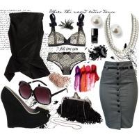 офисный стиль одежды для девушек лето 2012.