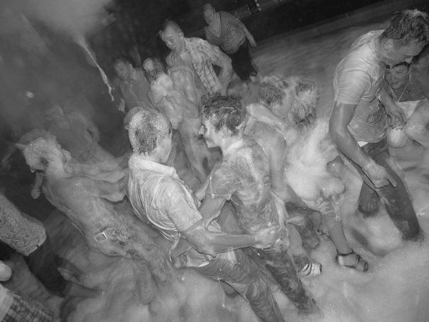 Пенная вечеринка в Горках