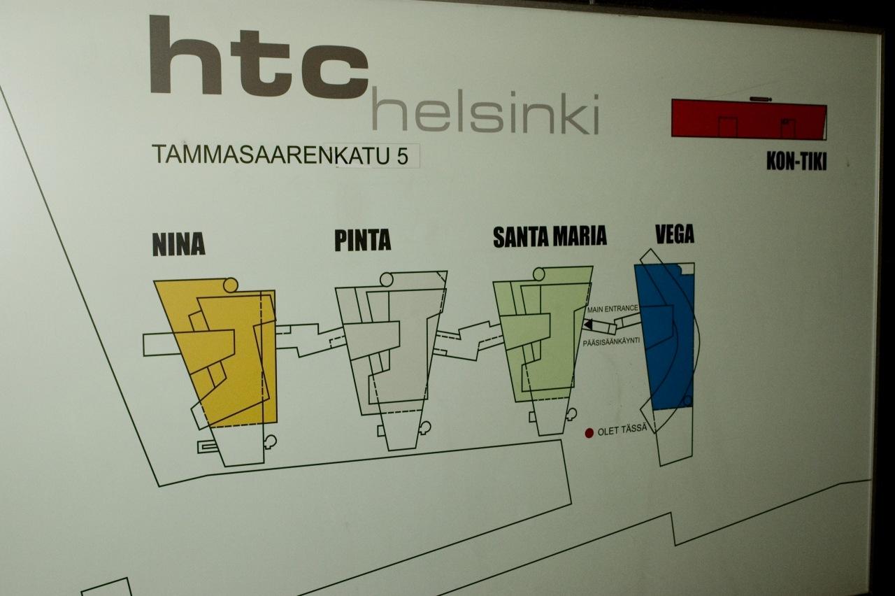 План здания HTC