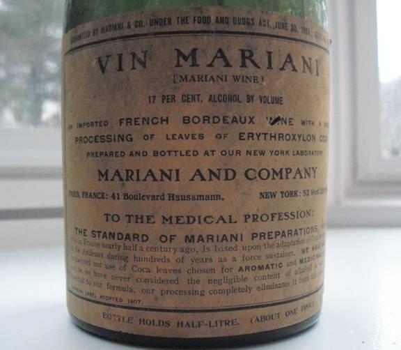 ...Европы и Америки винный напиток с содержанием кокаина.