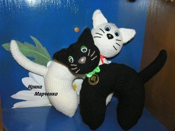 вязание крючком шапочки и шарфы для собак, шапка кошка схема вязания...