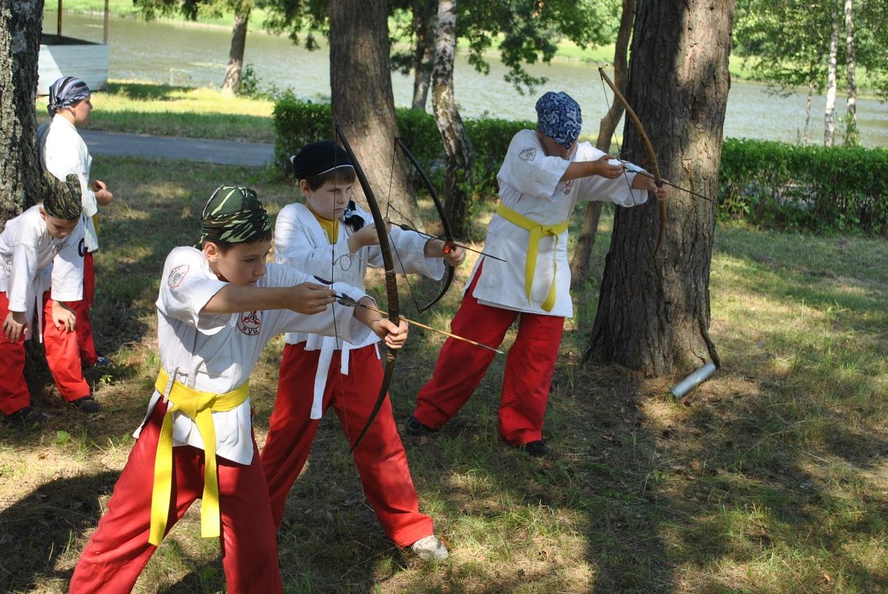 летний спортивный лагерь ниндзя
