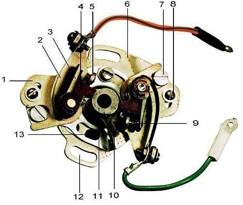 Контактная схема зажигания на иж планета 5 Контактная мотоцикл дорожный иж планета 5 01 выполнен на базе мотоцикла иж...
