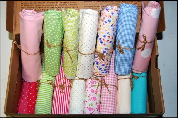Ткани и аксессуары для шитья кукол