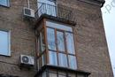 Балкон. схема остекления балкона.