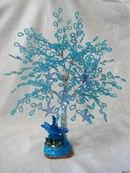 """Дата: 22.06.2010 Теги: Добавил: aiku.  Дерево из бисера  """"Морская звезда """" Высота около 27см - 75грн."""