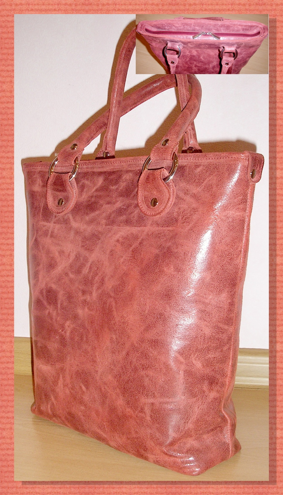Реставрация сумок своими руками