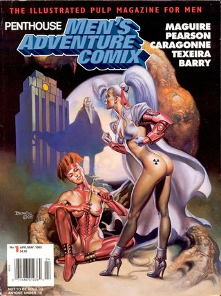 Penthouse Mens Adventure Comix 01