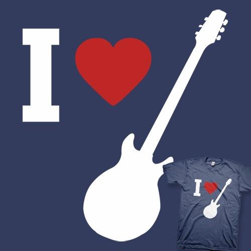 Майка-гитара от ThinkGeek blog.eBayWorld.ru.