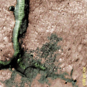 НАСА обнаружили объекты коммуникаций на Марсе