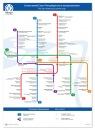 Схема Санкт-Петербургского метрополитена.