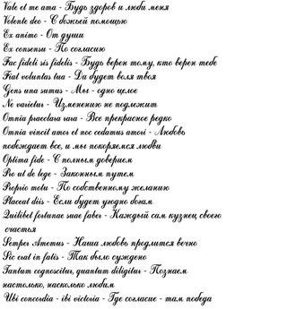 Тату надписи со смыслом и переводом фото на ноге