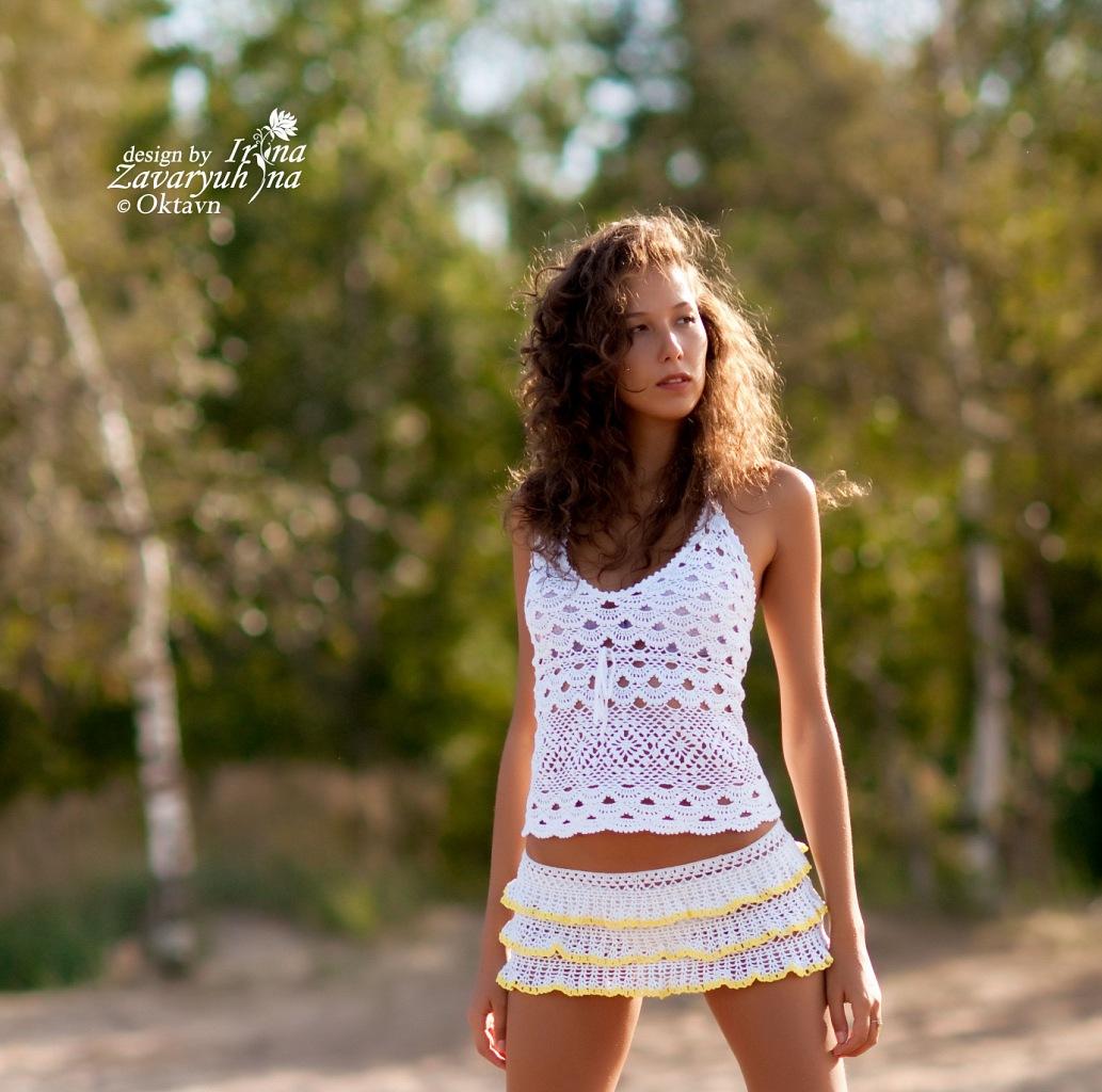 Вязание летних моделей для девушек