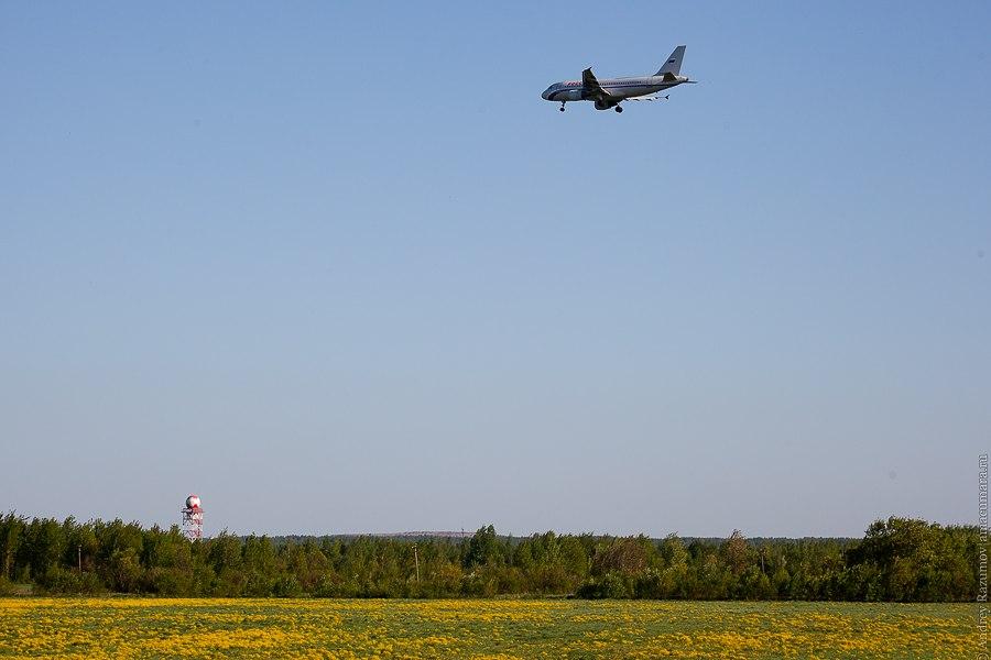 Пулково самолет споттинг