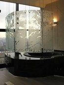 ...панелями из стекла способна буквально преобразить облик помещения.