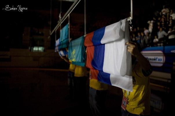 желто голубой флаг