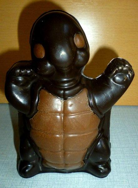 Шоколадные фигуры в виде