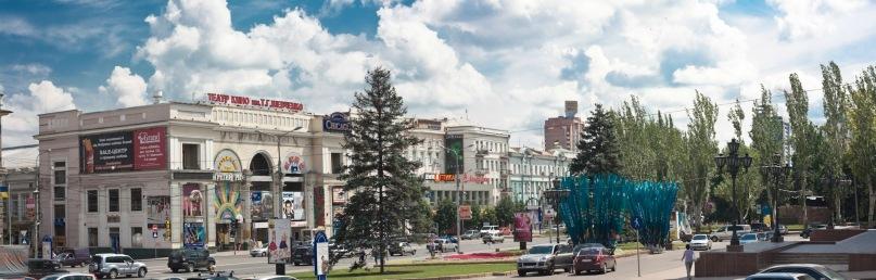фото панорама донецк