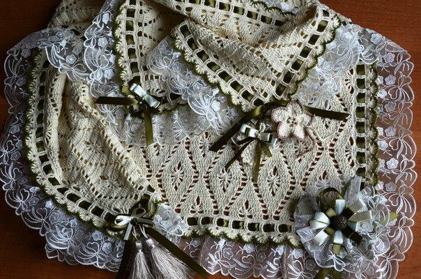 Клуб осинка вязание платье для девочки