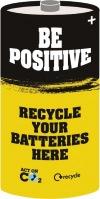 Сдай батарейку - сбереги природу!