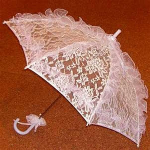 Зонт из гипюра своими руками 29