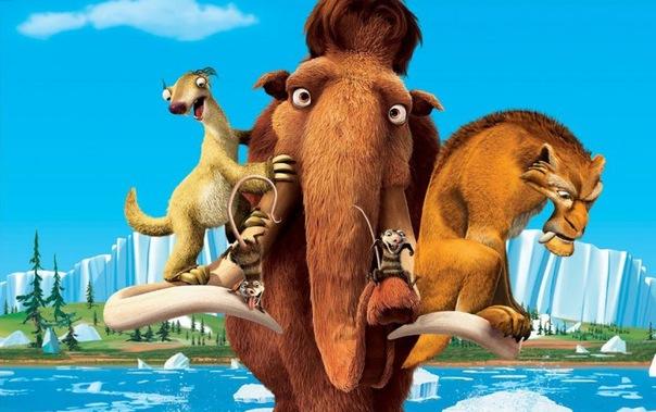 """Сходили на мультфильм  """"Ледниковый период 4 """". Самый смешной момент, это взглас ленивца..."""